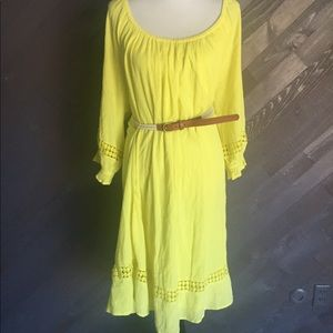 Lane Bryant Yellow Dress 🌼🌼🌼